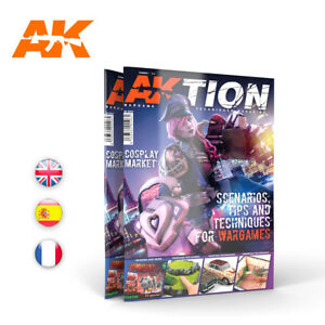 AKTION WARGAME TECHNIQUES MAGAZINE # 1 (ENGLISH) - AK INTERACTIVE