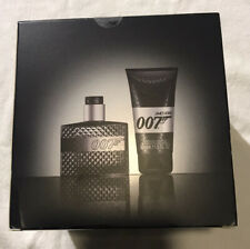 James Bond 007 Aftershave 30ml Shower Gel 50ml Gift Set Brand New Sealed Cube