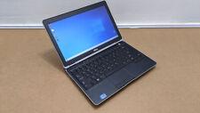 """Dell Latitude E6230 12.5"""" Laptop i5 3320m 2.6ghz 4GB 320GB Win10 Backlit WiFi"""