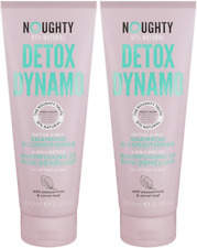 2-pack Noughty Detox Dynamo 2in1 Shampoo & Conditioner 250ml