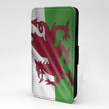 For Apple iPod Touch Flip Case Cover Country Flag Wales - T2361