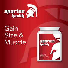SPARTAN HEALTH WEIGHT GAINER PILLS – HELPS YOU EAT MORE BULK UP GAIN WEIGHT