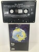 Fragile by Yes Cassette Tape Atlantic AC-7211 1972 FREE SHIPPING!