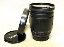 Nikon AF Mount TAMRON 28-200mm f/3.8-5.6 Zoom Lens for SLR & DSLR w/Caps & Hood