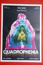 QUADROPHENIA THE WHO STING TOYAH 1979 RARE EXYU MOVIE POSTER