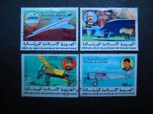 Mauritania #367-71 Used  (XQ) -  I Combine Shipping!