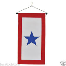 New listing Military Service Star Hanging Door Banner