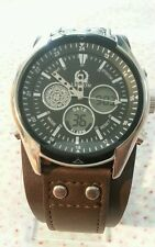 Legion multi-function anolog / digital watch -just incredible rare leather band.