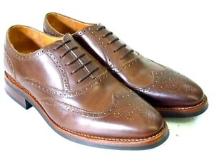 Prime Shoes Rahmengenäht Herrenschuhe Echtleder Oxford 706 Buttero brown Gr.8