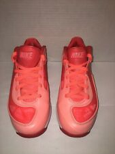 Nike Air Max 360 BB Low Bright Mango Crimson Lebron Style Men's 7, 441947-800