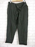 Witchery Casual Cargo Style Pants Black Sz 12