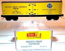 Z MTL 518 00 011 40' Reefer Pacific Fruit Express SP/UP