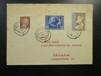 Germany SC# B209 & B210 On 1942 Cover to Coburg - Z6706