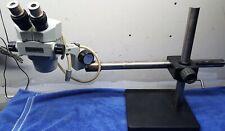 Unitron Japan Model Zsm Stereo Microscope Zoom 6x 30x High Quality With Boom