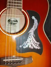 Acoustic Guitar Scratch Plate Pickguard self adhesive size shown. # 69