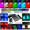 4PCS 36 LED Car Interior Atmosphere Neon Lights Strip RGB multicolor + IR Remote