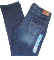 NWT $79  Seven 7 Mens Slim Straight Jeans Mens Size 34x34 36x34 38x34 Brown Tint