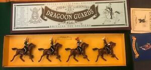 BRITAINS 8828 The 6th DRAGOON GUARDS (CARIBINIERS) SET MINT BOXED