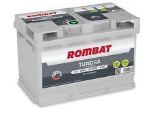 Batterie voiture Rombat Tundra E380 12v 80ah 750A 278x175x190 idem e11 e44 VARTA