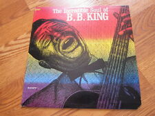 BB KING Incredible Soul Kent Lp