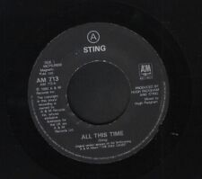 "STING all this time 7"" WS EX/ uk a&m AM 713 noc"