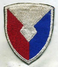 Vintage US Army Material Command Color Patch Cut Edge