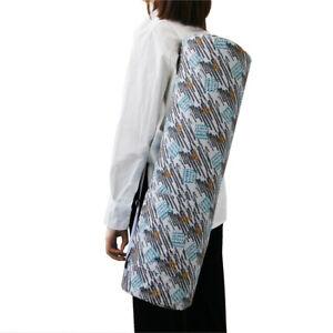 Large Portable Yoga Mat Carrier Bag Shoulder Strap Gym Fitness Pilates Carry Bag