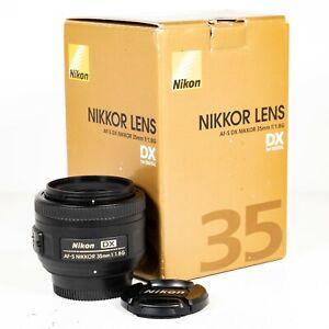 Nikon Nikkor AF-S 35mm F/1.8 L DX G Lens for Nikon