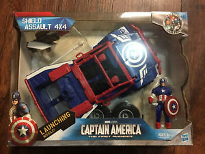 Captain America First Avenger SHIELD ASSAULT 4X4 Vehicle Hasbro 2011