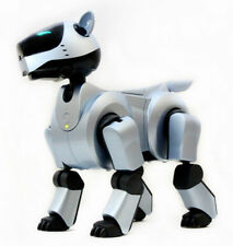 SONY AIBO | ERS-210 SILVER/ BLUE EDITION - ROBOTER HUND KOMPLETTSET - BOXED