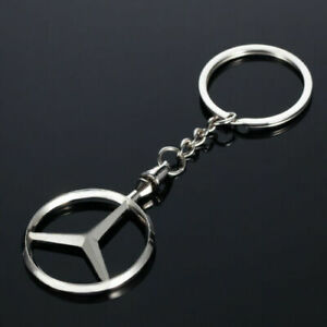 (2)Key Chain Keyring Light Weight Exquisite Look Gift Auto Fan For Mercedes Benz