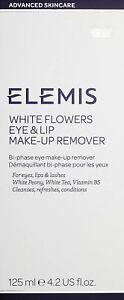 Elemis White Flowers Eye & Lip Make-up Remover 125ml NEW BOXED