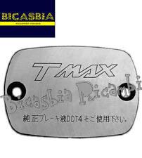 7436 - COPERCHIO POMPA FRENO CROMATO YAMAHA 500 T-MAX T MAX TMAX