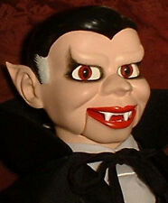 "Haunted Dracula Ventriloquist Dummy ""EYES FOLLOW YOU"" puppet doll prop"