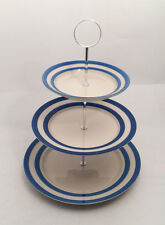 Cornish Blue 3 Tier Cake Stand by T.G.Green Cornishware