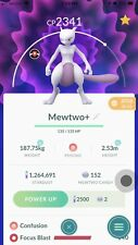 Pokemon Go Rare Mewtwo for Trade - SAME DAY TRADE  (Must Have One Registered)