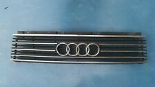 Audi C3 100 200 5000 Front Grill with Chrome Trim 1982 - 1991