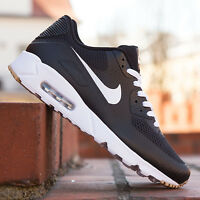 NIKE AIR MAX 90 ULTRA MOIRE ESSENTIAL BLACK WHITE US UK 5 5.5 6 6.5 819474-010