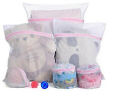 3pcs / 1 set Practical Laundry Zipped Washing Mesh Bags Net Socks Underwear - 6A