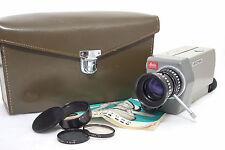 LEICA Leitz Leicina 8 SV mit Vario 7,5-35mm f/1,8 + Ledertasche + Filter