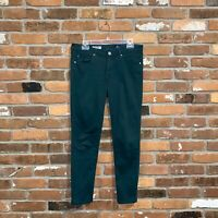 Ag Adriano Goldschmied Green Stevie Ankle Jeans Size 29