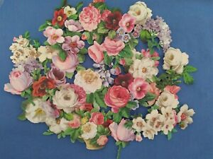 Anna Griffin Favorite Flowers IV Card Making Embellishments 30 pc