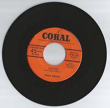 TERESA BREWER 45 RECORD- JILTED/ LE GRAND TOUR DE L'AMOUR..VG+  1954