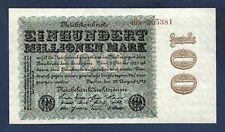 (DN) Germany Alemania 100 Million Mark 1923 P-107c SC UNC