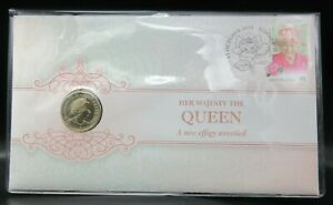 2019 Her Majesty the Queen Double Header - A New Effigy $1 UNC Coin PNC
