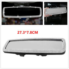 Rear View Mirror Accessories Korean Style High-Grade Rhinestone Car Rearview