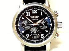 "Mechanical Russian watch  - Chronograph  ( Buran )  - "" Aviator "" . NEW."