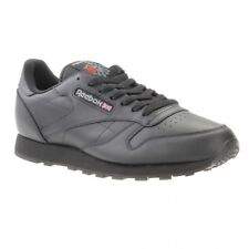 347d7912a155ee Reebok Classic Leather Retro Trainers in Black 2267 UK 11 0054871864377