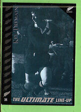 "1995 NEW ZEALAND  ALL BLACKS RUGBY UNION CARD  #34  KEL  ""BUNNY""  TREMAIN"