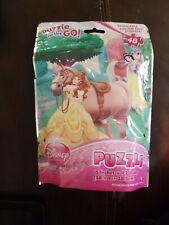 Disney Princess Puzzle On the Go Ariel Belle & Snow White 48pcs